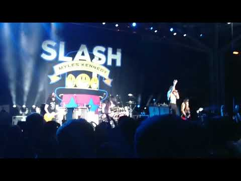 Slash Featuring Myles Kennedy live Singapore 2019(3) Mp3