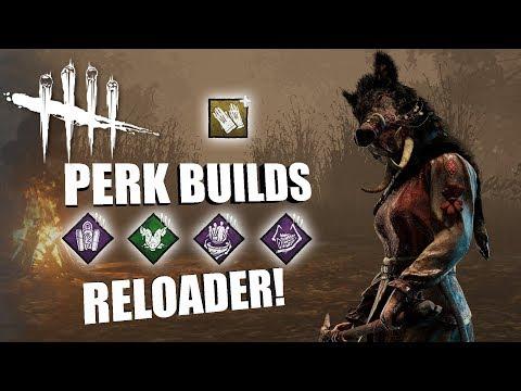 RELOADER! PT. 2 | Dead By Daylight THE HUNTRESS PERK BUILDS