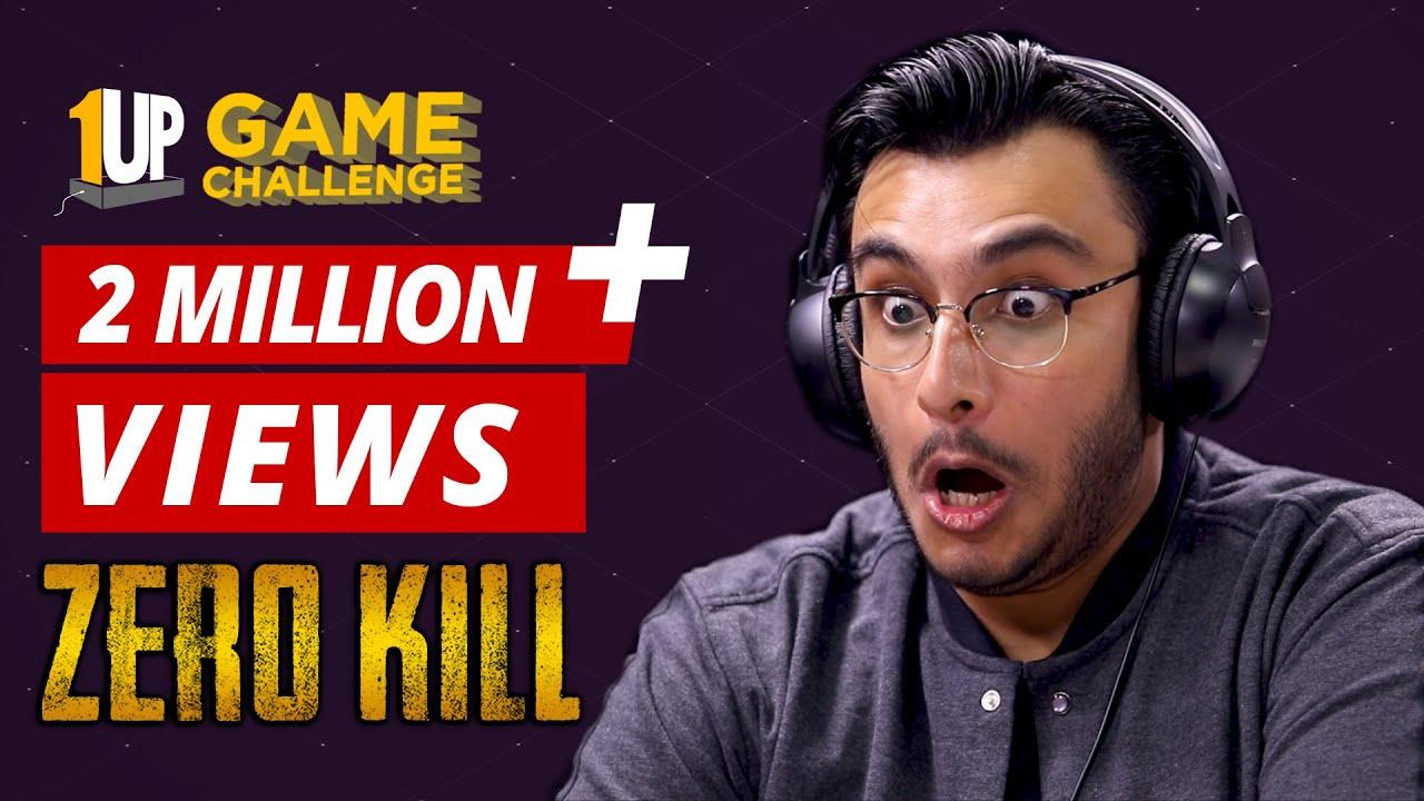 Zero Kill Challenge with RawKnee | Tech2 Game Challenge | PUBG Mobile