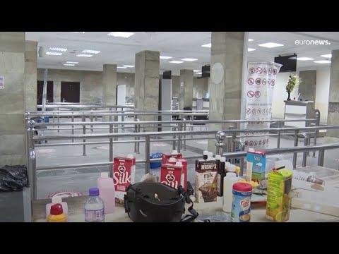 Imágenes exclusivas del aeropuerto de Kabul tomado por los talibanes