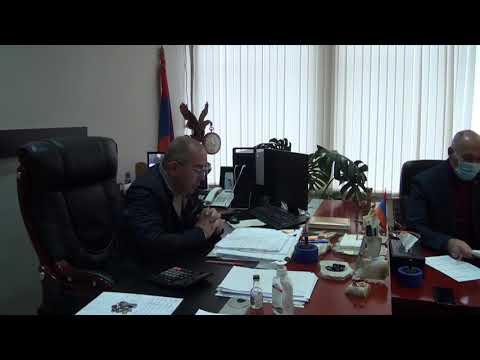 Բերդ համայնքի ավագանու 01.12.2020թ. նիստ