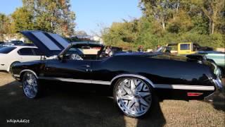 WhipAddict: 71' 442 Oldsmobile Cutlass Convertible on Forgiatos 24s, Custom Interior