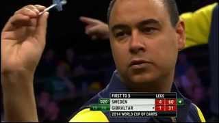 Sweden v Gibraltar | Round 1 | Word Cup of Darts 2014