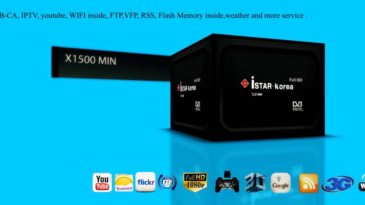 istar Korea Company X50000 - X4000MEGA - X1000MINHD - X1500MINHD