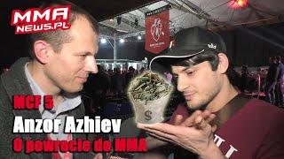 """Anzor Azhiev gotowy na powrót MMA: """"Musi być chęć i (finansowy) sens."""""""