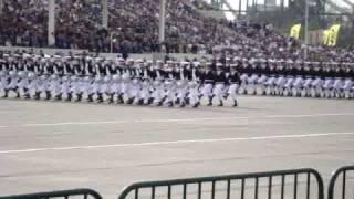 Banda Escuela de Grumetes Parada Militar 2009