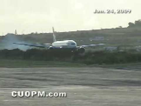 British Airways arrives Robert L. Bradshaw Int'l Airport, St. Kitts (Part 1)