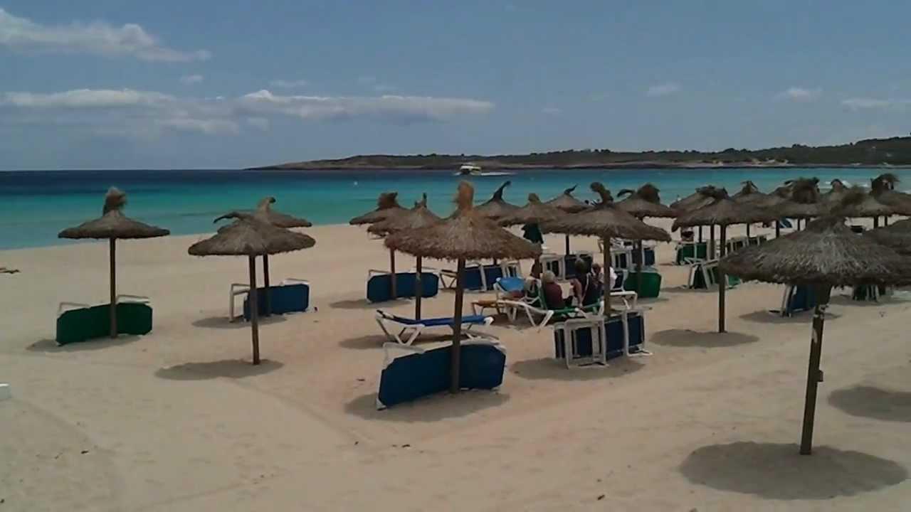 Mallorca Ostküste Cala Millor Promenade Und Strand Youtube