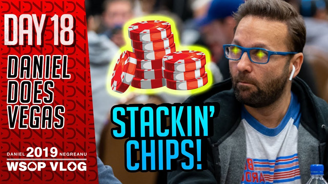 800f219be Stackin' Chips - 2019 WSOP VLOG DAY 18 - YouTube