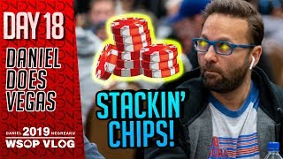 Stackin' Chips - 2019 WSOP VLOG DAY 18