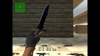 CSS #12 - 3 M9 Bayonets, 1 flip knife (different skins) & butterfly fade.