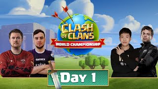 World Championship #5 Qualifier Day 1 - Clash of Clans