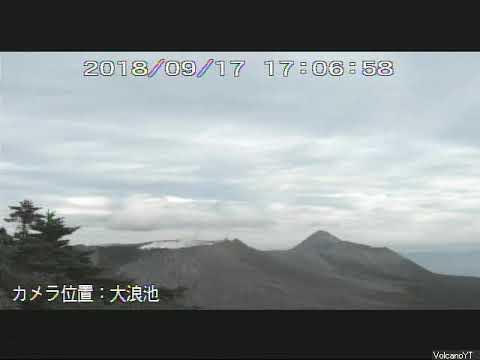 17/9/2018 WITA - Mt Shinmoedake 新燃岳 TimeLapse