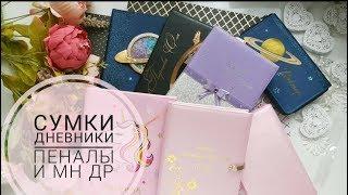 Обзор сумок/Школьные дневники/ Пеналы