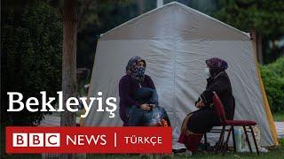İzmir Depremi: İzmirli depremzedeler geceyi nasıl geçirdi?