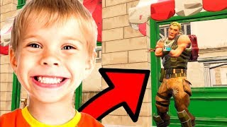 JE TROLL CE SALE GOSSE ULTRA INNOCENT SUR FORTNITE BATTLE ROYALE !