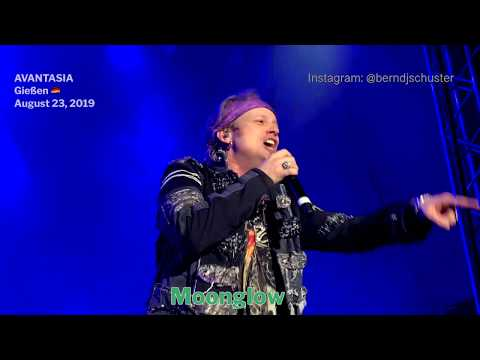 AVANTASIA - Moonglow @Giessen, Germany - August 23, 2019 - 4K LIVE