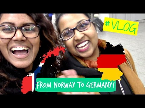 EssenVlog Day1 - From Norway to Germany! // #Vlog19