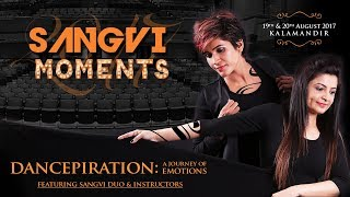 Dancepiration : Trainers Stage Performance | SangVi Moments 2017 |  Dance Choreography | Aerial Act