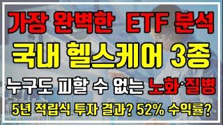 [가장 완벽한 ETF 분석] 국내 헬스케어 ETF 3종…