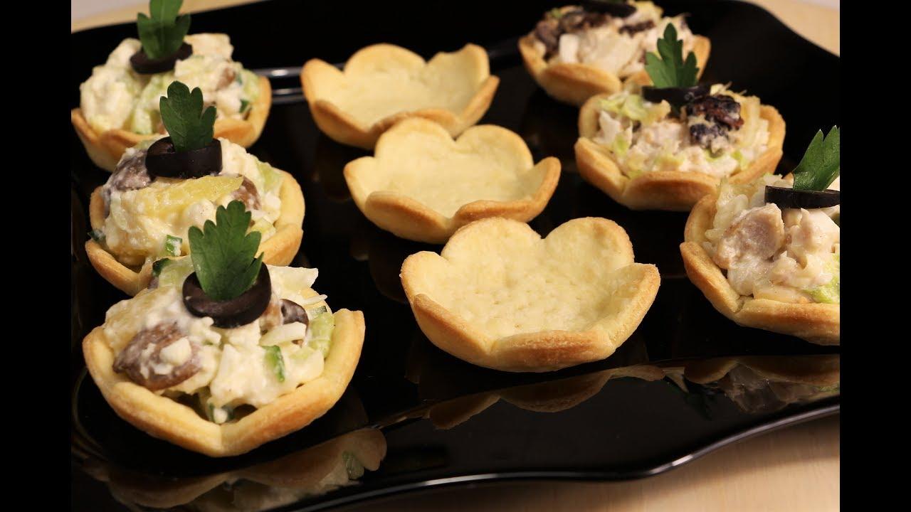 С Ними Праздничный Стол Ярче И Интереснее! Закусочные Тарталетки - Красиво И Вкусно!