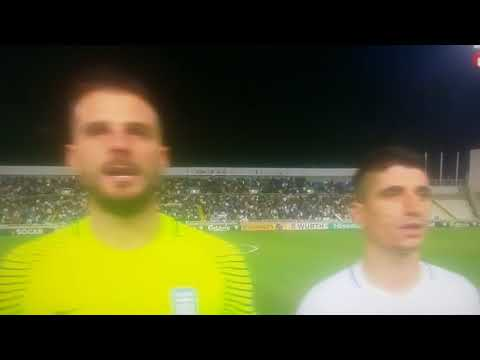Greece and Cyprus sing the same anthem