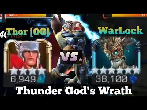 Thor (OG) Vs. Warlock | Uncollected| Marvel Contest of Champions