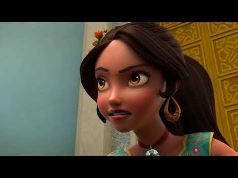 Елена - Принцесса Авалора -07-Уроки волшебства:Ограбление королевской сокровищницы мультфильм Disney
