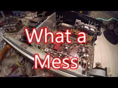 Sony STR 6045 Stereo Receiver Repair & Restoration (Part 2)...Houston, We Have Problem