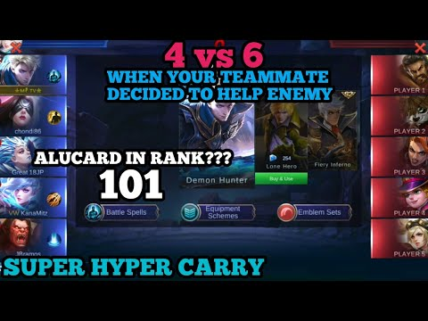 Is alucard still good in rank?   alucard hyper super carry   alucard best build   mobile legends alu