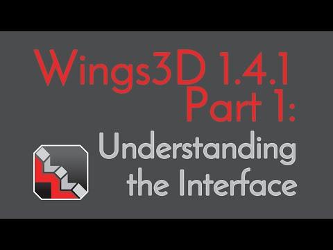 Basic Wings 3D 1.4.1 Tutorial Series, Part 1: Understanding the Interface