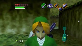 The legend of Zelda:Ocarine of time capitulo 15 Laberinto del minotauro version zelda