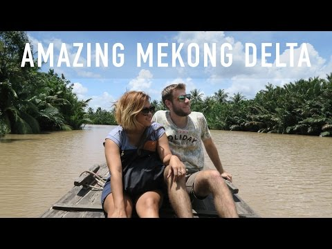 AMAZING MEKONG DELTA (A DAY TOUR WITH GINKGO) | TRAVEL VLOG