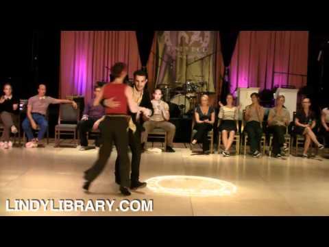ILHC 2011 - Invitational Jack & Jill - Juan Villafane & Annie Trudeau