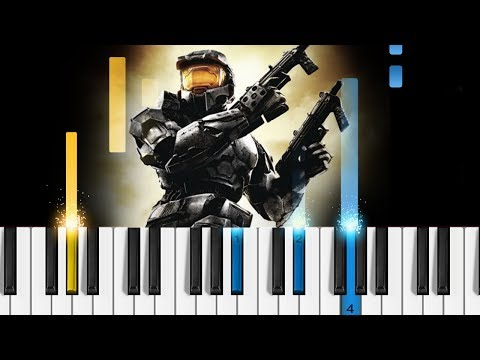 Halo Theme - Piano Tutorial / Piano Cover
