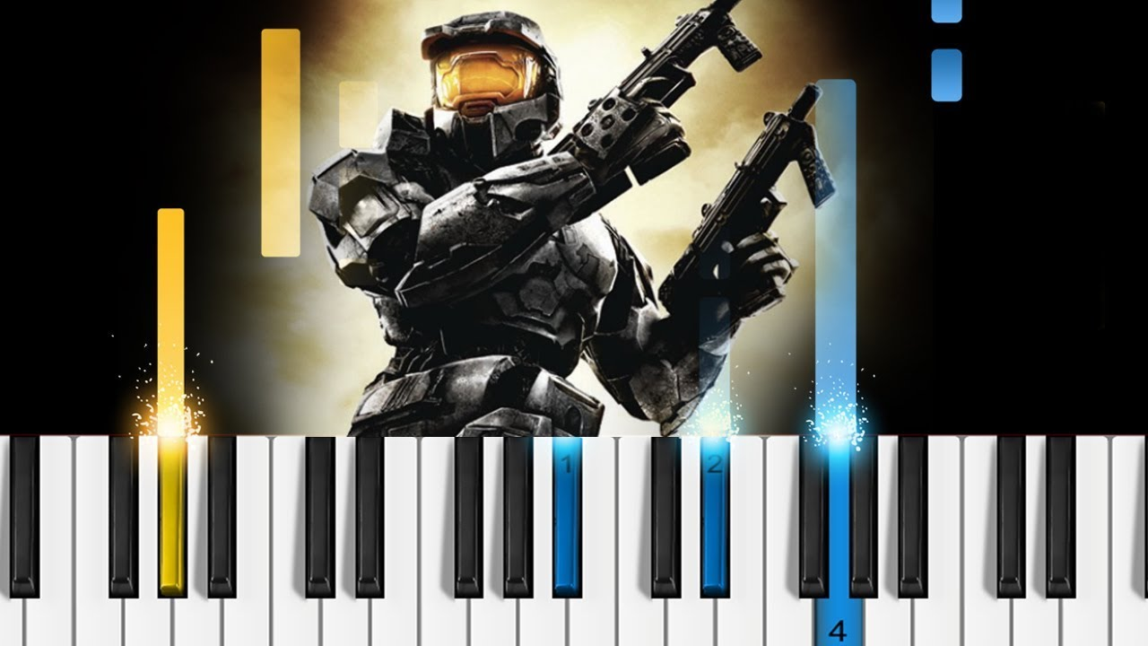 how to play the halo theme song on piano