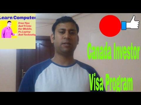 Canada Investor Visa Program