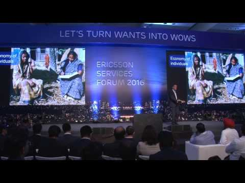 Keynote: Creating Value in a Connected World  - Ericsson Services Forum 2016 - Mumbai