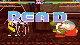 Mugen Random Battles: Clippy and Dancing Banana vs Yoshi and Eric Cartman