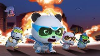 ¡Acción, Equipo de Rescate! | Súper Panda Héroes | Dibujos Animados Infantiles | BabyBus thumbnail