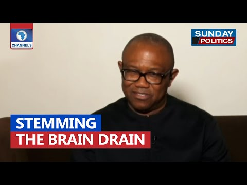 People Are Leaving Nigeria Because Our Priority Is Wrong - Peter Obi