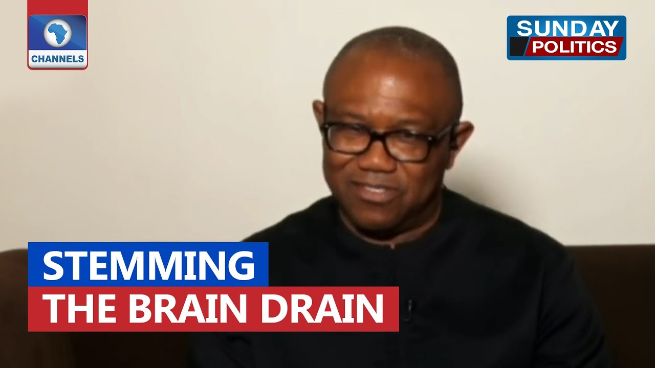 Download People Are Leaving Nigeria Because Our Priority Is Wrong - Peter Obi