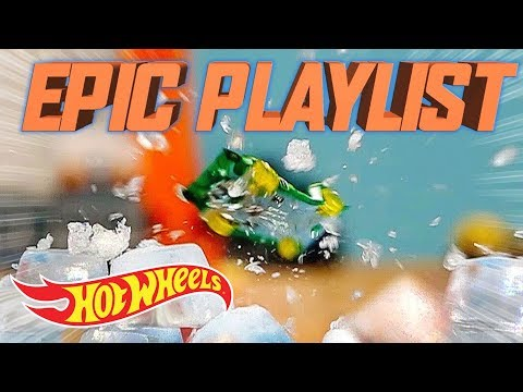 Jumping Food!   The Epic Playlist   Hot Wheels