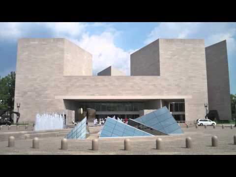 I.M. PEI'S NATIONAL GALLERY OF ART EAST WING APAH-VR