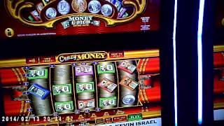 Incogsino dances with the Crazy Money Slot: Del Lago Casino Video!