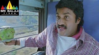 Maryada Ramanna Movie Sunil and Saloni Comedy in Train | Sunil, Saloni | Sri Balaji Video