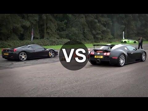 bugatti veyron vs nissan gtr r35 drag race funnycat tv. Black Bedroom Furniture Sets. Home Design Ideas