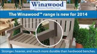 Winawood™ Benches - The All Weather Winawood Garden Bench