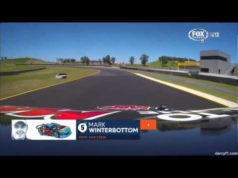Onboard Lap around Sydney Motorsport Park (feat. Mark Winterbottom) - #V8SC 2015