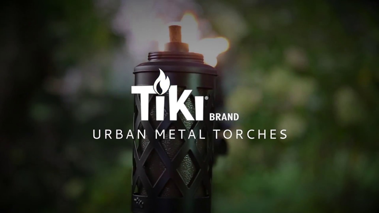 Tiki Brand Urban Metal Torch Youtube